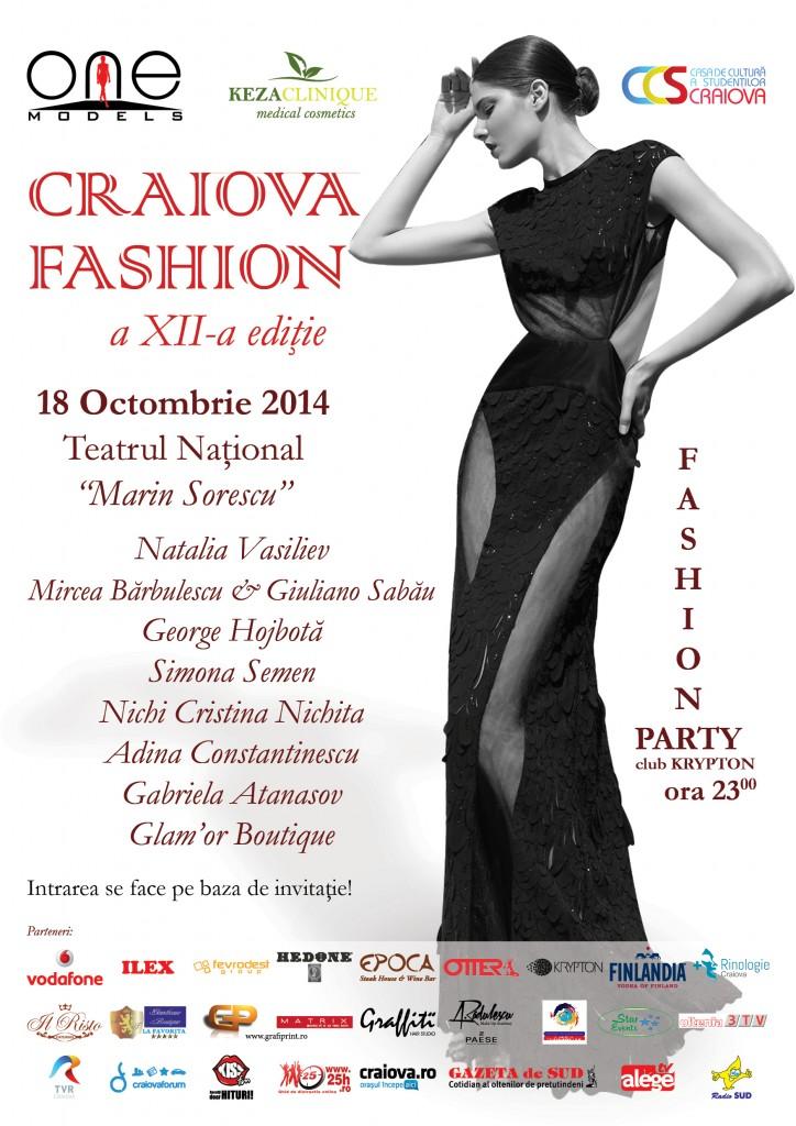 Afis Craiova Fashion 2014